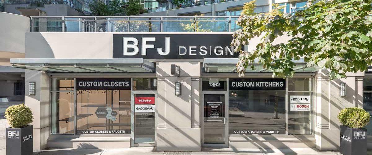 BFJ Design - Custom Vancouver Kitchen Renovations and Cabinets